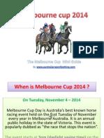 The Melbourne Cup Mini Guide