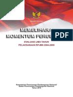Buku Evaluasi RPJMN 2005-2009 Part5