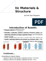 Auxetic Materials