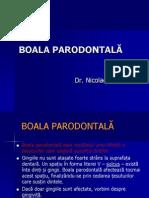 BOALA PARODONTALA