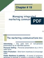 Mkt Mgt # 19 Marketing Communication