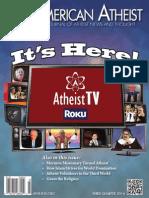 American Atheist Magazine Third Quarter 2014