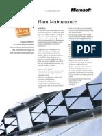 Capgemini ERP Scenario Plant Maintenance