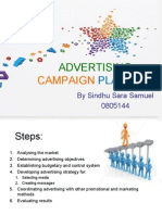 Advertising Campaign Planning