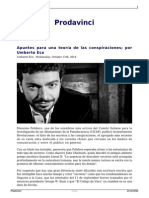Umberto Eco, Para una teoría de las conspiraciones.pdf