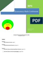 elementary math continuum