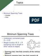 prims and kruskals algorithm