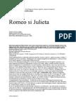 William Shakespeare - Romeo si Julieta.doc