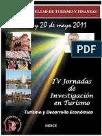 IV Jornadas de Investigación en Turismo