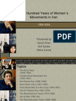 Women Movements in Iran