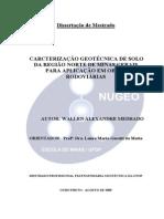 DISSERTAÇÃO_CaracterizaçãoGeotécnicaSolo.pdf
