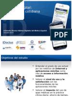 II Estudio iDoctus Hábitos Digitales Del Médico Español