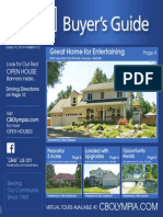 Coldwell Banker Olympia Real Estate Buyers Guide October 18th 2014