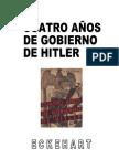 CUATRO AÑOS DE GOBIERNO DE HITLER