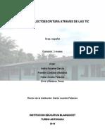 MEJORAR LA LECTOESCRITURA ATRAVES DE LAS TIC.doc
