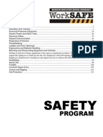 safety policy statement for employees
