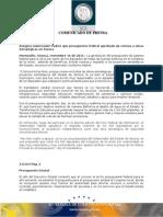 16-11-2011 El Gobernador Guillermo Padrés en entrevista reconoció que la aprobación del presupuesto de egresos en el senado, además de beneficiar, brinda certeza y respaldo a los proyectos estratégicos del estado. B111163