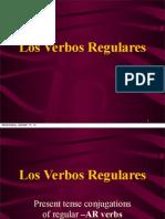 regular -ar verbs
