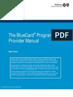 BCBS Provider Manual