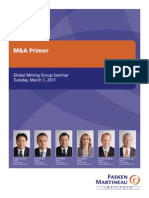 M&a Primer Event Booklet - March 1 2011