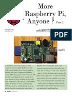 Raspberry PI Introduction Part 2