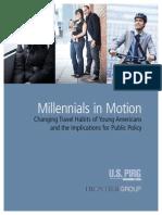 Millennials in Motion