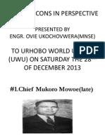 Urhobo Icons