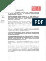 RESOLUCIÓN COMISIÓN EJECUTIVA NACIONAL PSPV