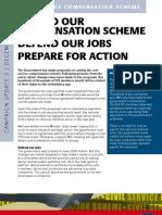 Civil Service Compensation Scheme Campaign Update 2 | December 2009