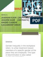 prentation on gender inequality