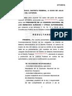 Versión pública del Amparo 577/2014