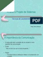 3 - Tecnicas de Levantamento de Dados.ppt