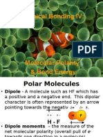 Lecture 5.6 - Chemical Bonding 4- Polarity & BE
