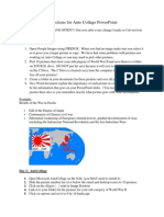 directions for auto collage powerpoint
