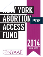 NYAAF FY14 Annual Report
