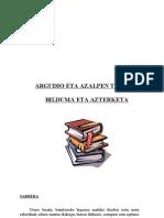Argudio Eta Azalpen Tesutak-proiektua