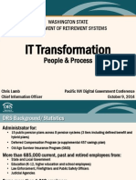 Pacific NW DGS 2014 Presentation - IT Transformation - C Lamb