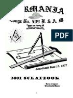 Masonic Blue Lodge - Scrapbook of a Successful Masonic Year by Barry J. Lipson, WM