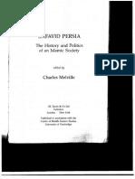 Safavid Persia History and Politics of an Islamic Society