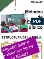clase07 Metodos de Est Bibl.ppt