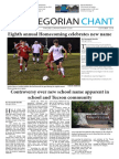 The Gregorian Chant - October 2014 Issue