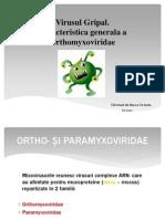 virusul gripal prezentare microbiologie