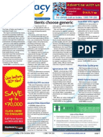 Pharmacy Daily for Fri 17 Oct 2014 - Patients choose generic, Guardian wins again, Vital Signs 2014, Letter to the Editor, and much more