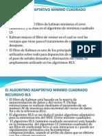 EL ALGORITMO ADAPTATIVO MINIMO CUADRADO RECURSIVO RLS.ppt