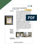 Chile Habanero.docx