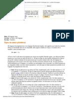 Tipos de datos primitivos (Los tutoriales Java™ _ El lenguaje Java _ Lo básico del lenguaje).pdf
