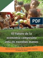 El Futuro de La Economía Campesina-montes de María