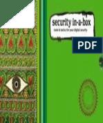Caja de Herramientas de Seguridad para Activistas en Internet de @TacticalTech