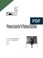 Profesor Autoritar vs Profesor Facilitator