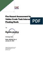 Capstone Fire Hazard Assessment